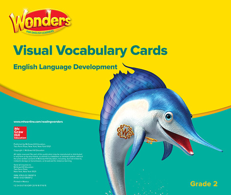 Reading Wonders for English Learners Visual Vocabulary Cards Grade 2