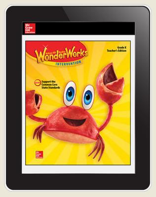 OKS - Reading WonderWorks Student Workspace Six Seats w/7Yr. Subscription Grade K