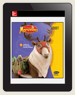 Maravillas OKS Student Workspace (1-Year Subscription), Grade 5