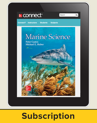 Castro, Marine Science, 2016, 1e, ConnectED eBook, 6-year subscription