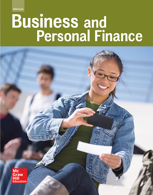 Glencoe Business and Personal Finance cover