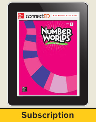 ConnectED Number Worlds subscription