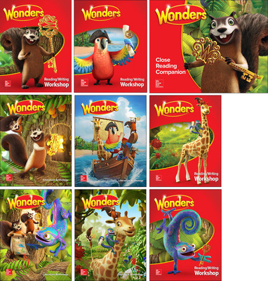 Wonders Comprehensive Package, Grade 1 (6-year subscription)