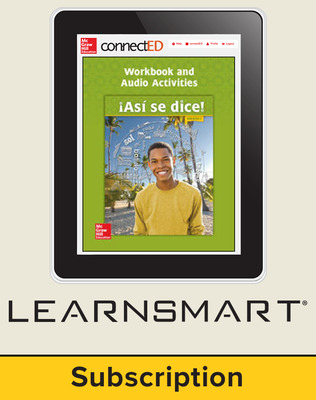 Asi se dice Level 3, Student Learning Center with LearnSmart Bundle, 6-year subscription