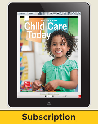 Glencoe Child Care Today, Online Teacher Center, 1 year subscription