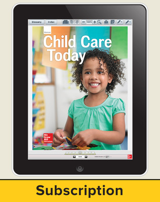 Glencoe Child Care Today, Online Student Edition, 6 year subscription