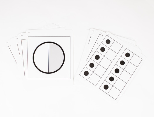 Everyday Mathematics 4, Grades K-2, Quick Look Cards - Double Ten Frames