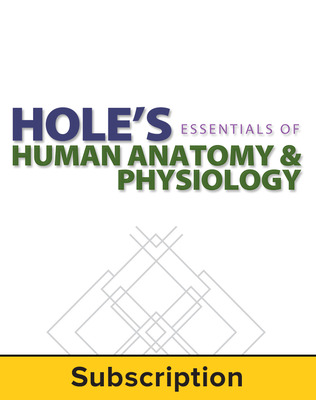 Shier, Hole's Essentials of Human Anatomy & Physiology © 2015, 12e, ConnectED eBook, 1-year subscription