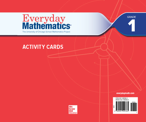 Everyday Mathematics 4, Grade 1, Activity Cards