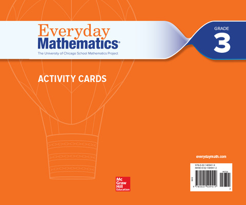 Everyday Mathematics 4, Grade 3, Activity Cards