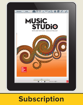 Spotlight on Music, Grade 3 Online Student Course Ten  Seat Add-On, 1 Year Subscription
