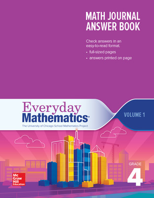 Everyday Mathematics 4th Edition, Grade 4, Math Journal