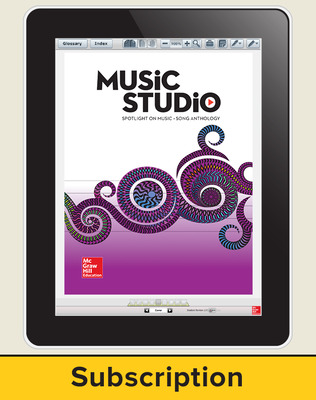 Spotlight on Music, Grade 5 Online Student Course Ten  Seat Add-On, 1 Year Subscription