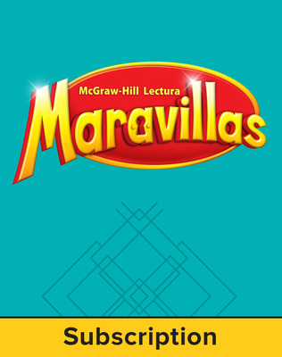 Lectura Maravillas, Grade 2, Literature Anthology, 6 Year Subscription