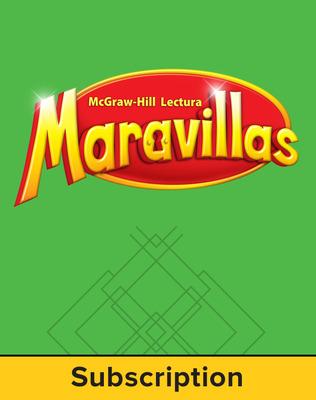 Lectura Maravillas, Grade 4, Literature Anthology, 6 Year Subscription