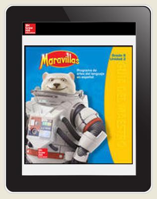Maravillas OKS Student Workspace (1-Year Subscription), Grade 6