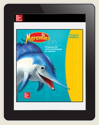 Maravillas OKS Student Workspace (1-Year Subscription), Grade 2