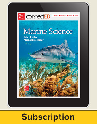 Castro, Marine Science, 2016, 1e, Connect, 1-year subscription