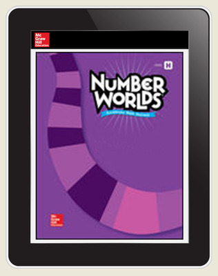 Number Worlds Level H Student License, 1-year subscription