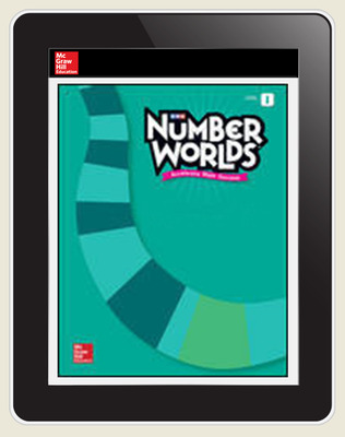 Number Worlds Level I Student License, 1-year subscription