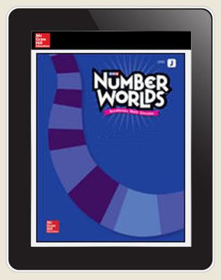 Number Worlds Level J Student License, 1-year subscription
