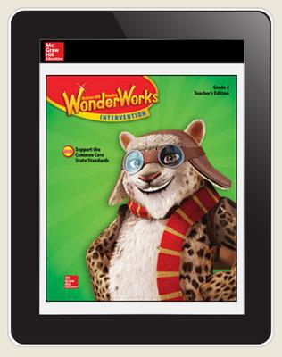 OKS Reading WonderWorks Teacher Workspace 8 Year subscription, Grade 4