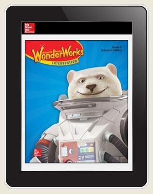 OKS Reading WonderWorks Teacher Workspace 8 Year subscription, Grade 6