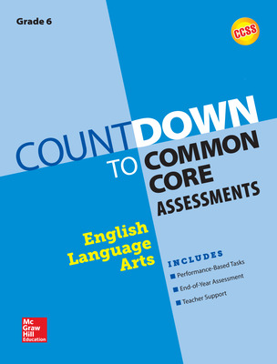 Countdown to Common Core Assessment Grade 6: ELA