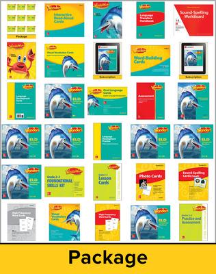 Wonders EL Support Comprehensive Kit w/6 Year Subscription, Grade 2