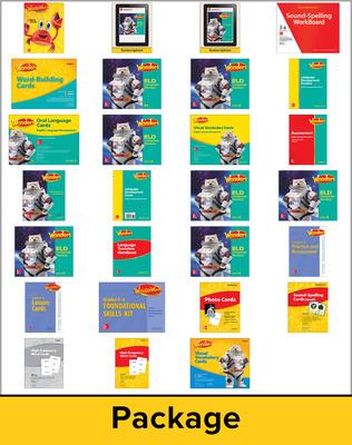 Wonders EL Support Comprehensive Kit w/6 Year Subscription, Grade 6