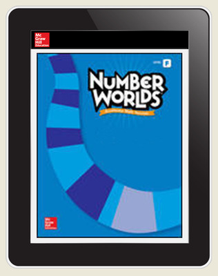 Number Worlds Level F Student License, 1-year subscription