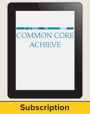 Common Core Achieve Interactive LAN-based