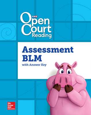 Open Court Reading Foundational Skills Kit, Assessment Annotated Teacher Edition and Blackline Master, Grade 3