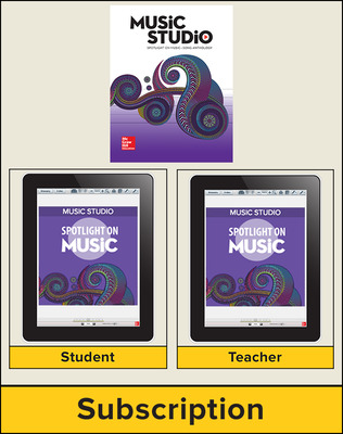 Spotlight on Music, Grade 8 Hybrid Bundle, 6 Year