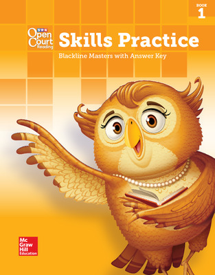 Open Court Reading, Grade 1, Skills Practice BLM with Answer Key, Book 1