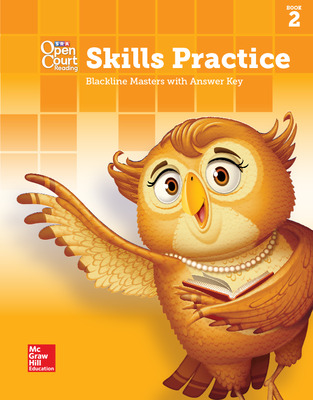 Open Court Reading, Grade 1, Skills Practice BLM with Answer Key, Book 2