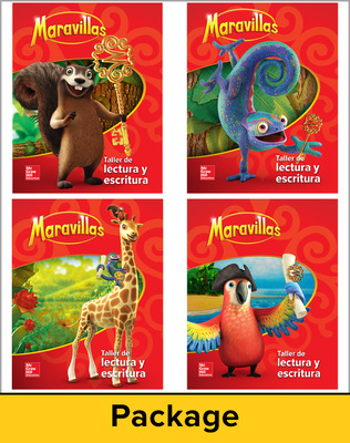 Lectura Maravillas, Grade 1, Reading Writing Workshop Package