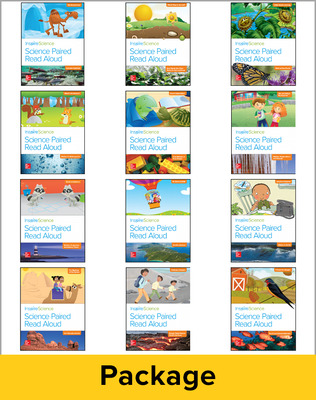 Inspire Science Grade 2, Paired Read Aloud Class Set (1 Each of 12 books)