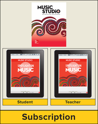 Spotlight on Music, Grade 1 Online Student Course Ten  Seat Add-On, 4 Year Subscription