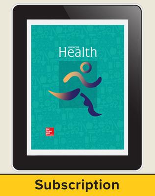 CUS Glencoe Health - 2014 Online Student Edition 1 year subscription