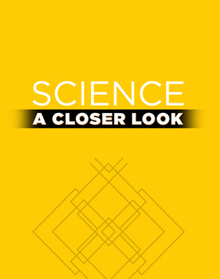 Science, A Closer Look, Grade K, Physical Science Puzzle