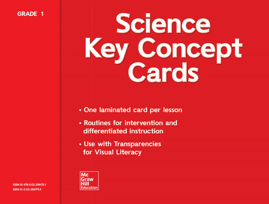 Science, A Closer Look Grade 1, Key Concept Cards