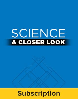 Science, A Closer Look Grade 6, Online Teacher Edition 2011 (1 year subscription)