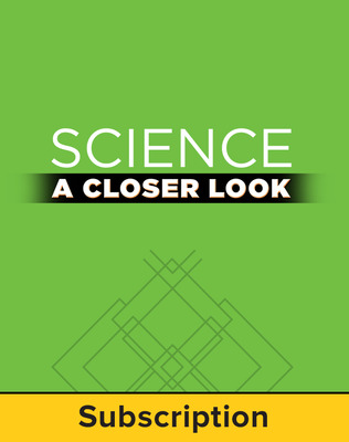 Science, A Closer Look, Grade 4, StudentWorks Plus Online 2011 (1 year subscription without purchase of SE)