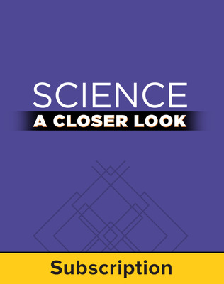 Science, A Closer Look, Grade 5, StudentWorks Plus Online 2011 (1 year subscription without purchase of SE)