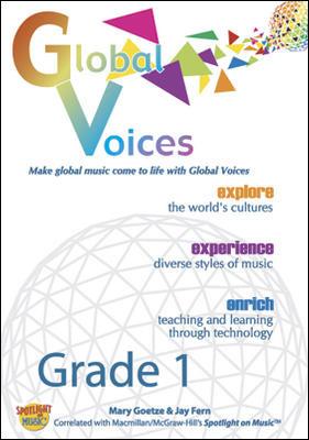 Spotlight on Music, Grade 1, Global Voices DVD