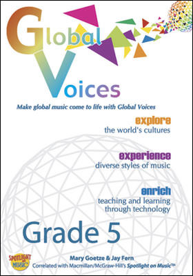 Spotlight on Music, Grade 5, Global Voices DVD