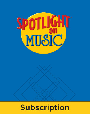 Spotlight on Music, Grade 5, Electronic Student Edition