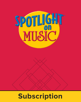 Spotlight on Music, Grade 3, Electronic Student Edition