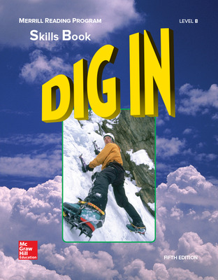 Merrill Reading Program, Dig In Skills Book, Level B